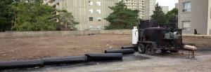 Parking Structure Restoration by Weathertech Restoration Services Inc.