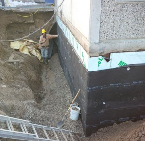 Excavation and Waterproofing by Weathertech Restoration Services Inc.